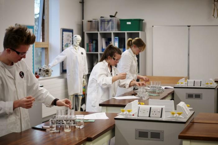 Biol lab work