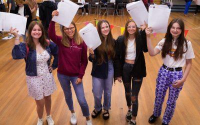 CELEBRATIONS AS NEXUS RECEIVE TOP GCSE RESULTS